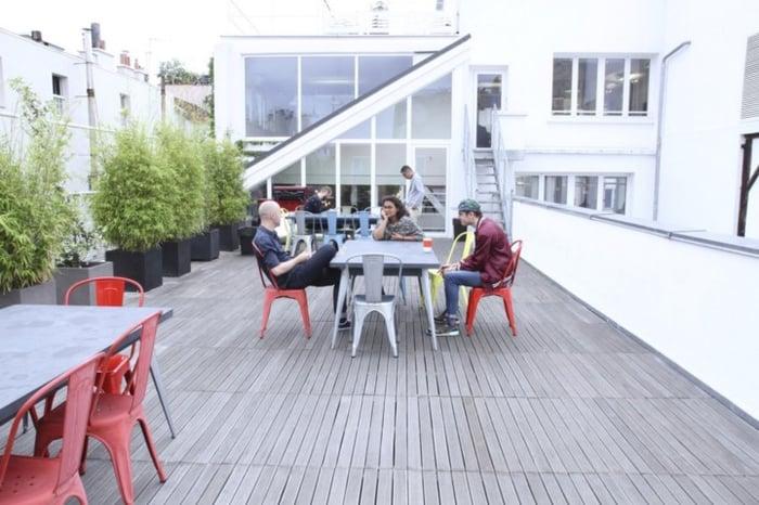 Rosa Park - terrasse