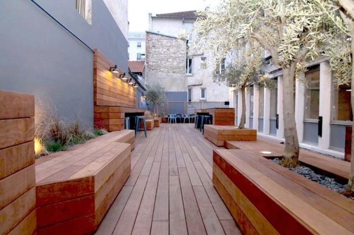Oodrive terrasse