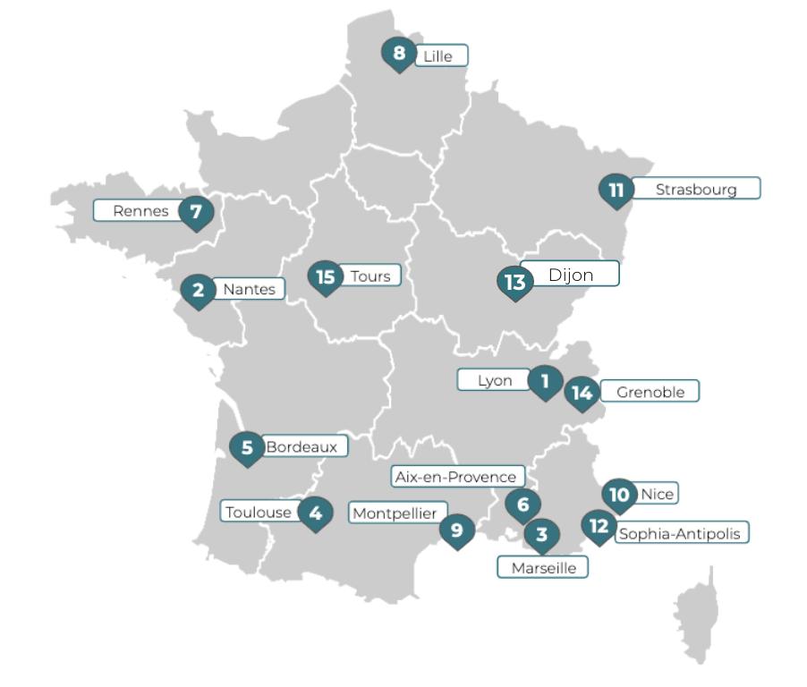 TOP15 bureaux à Lyon - bureauxlocaux