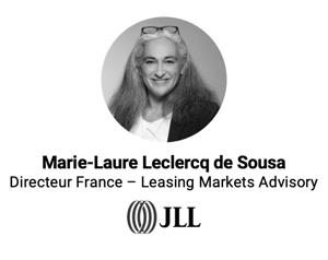 Marie-Laure Leclercq de Sousa lors de la conférence avec BureauxLocaux
