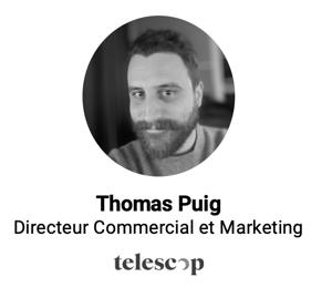 Thomas Puig lors de la conférence avec BureauxLocaux